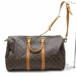 Authentic Louis Vuitton Keepall 45 bandouliete